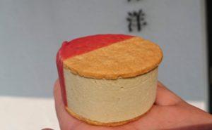 西村洋菓子店のクッキーサンドアイス