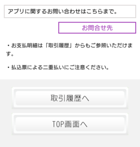 PayB支払い内容確認画面